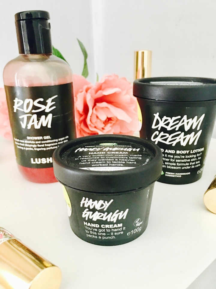 Trying Lush Products